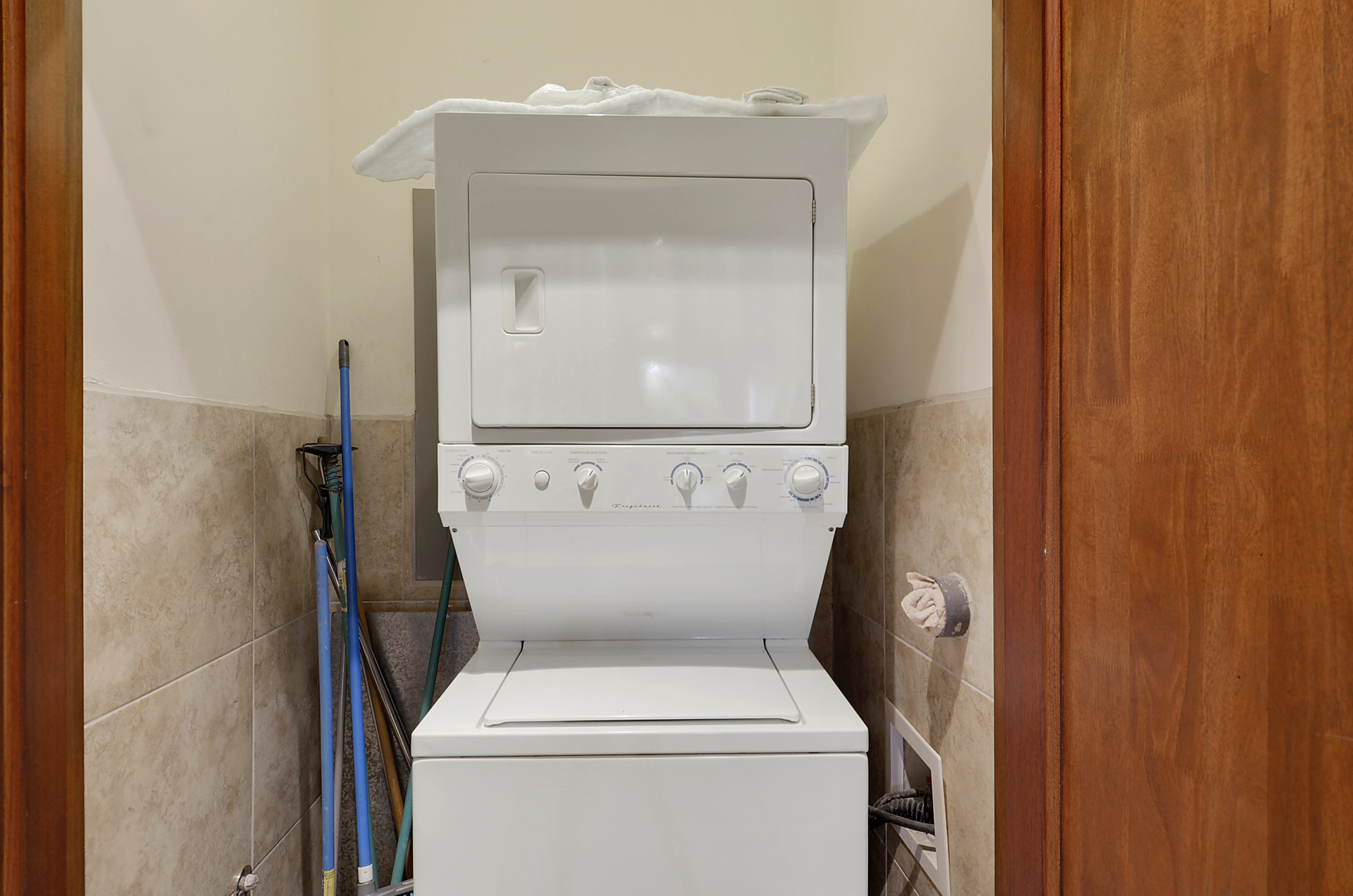 Washer and dryer if you need