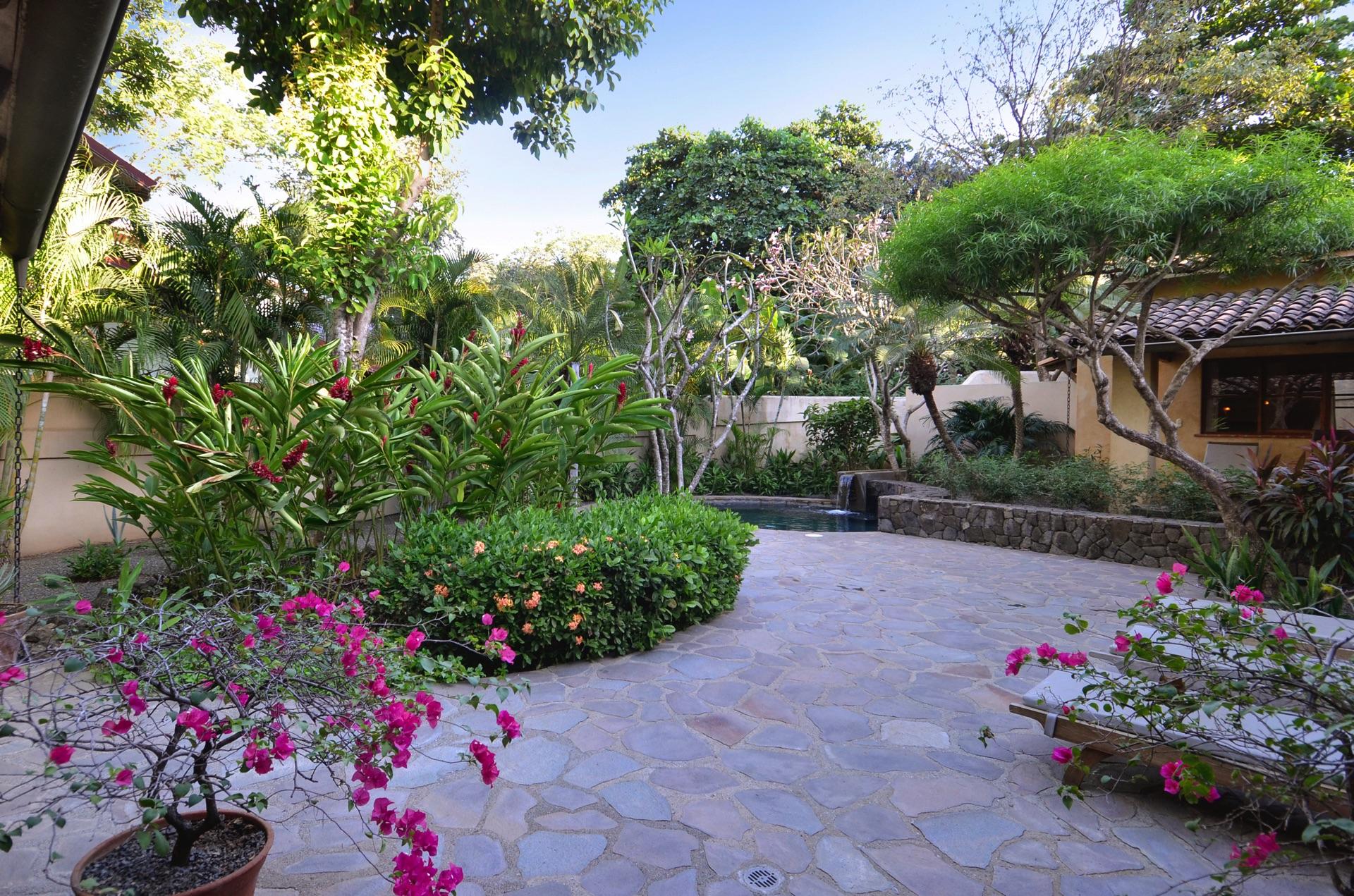 The courtyard at Hacienda del Pacifico