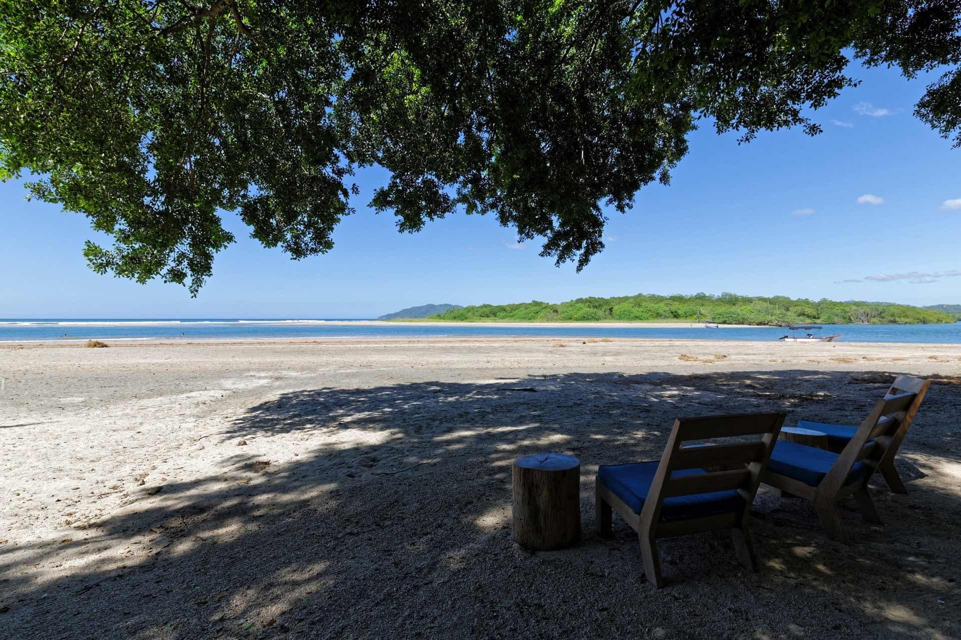 View next to Pangas Beach Club