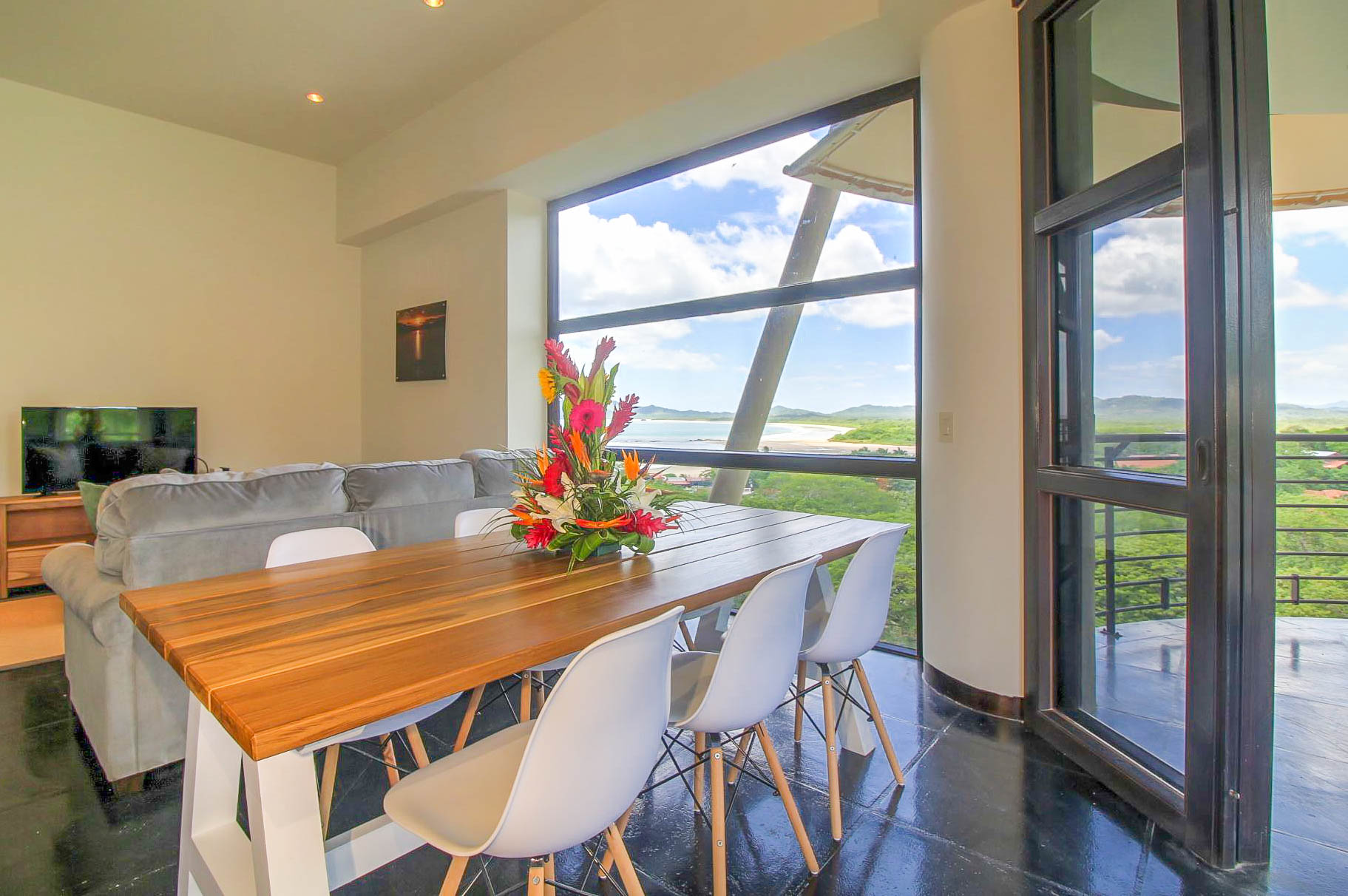 Dining Table with a view of Tamarindo Bay