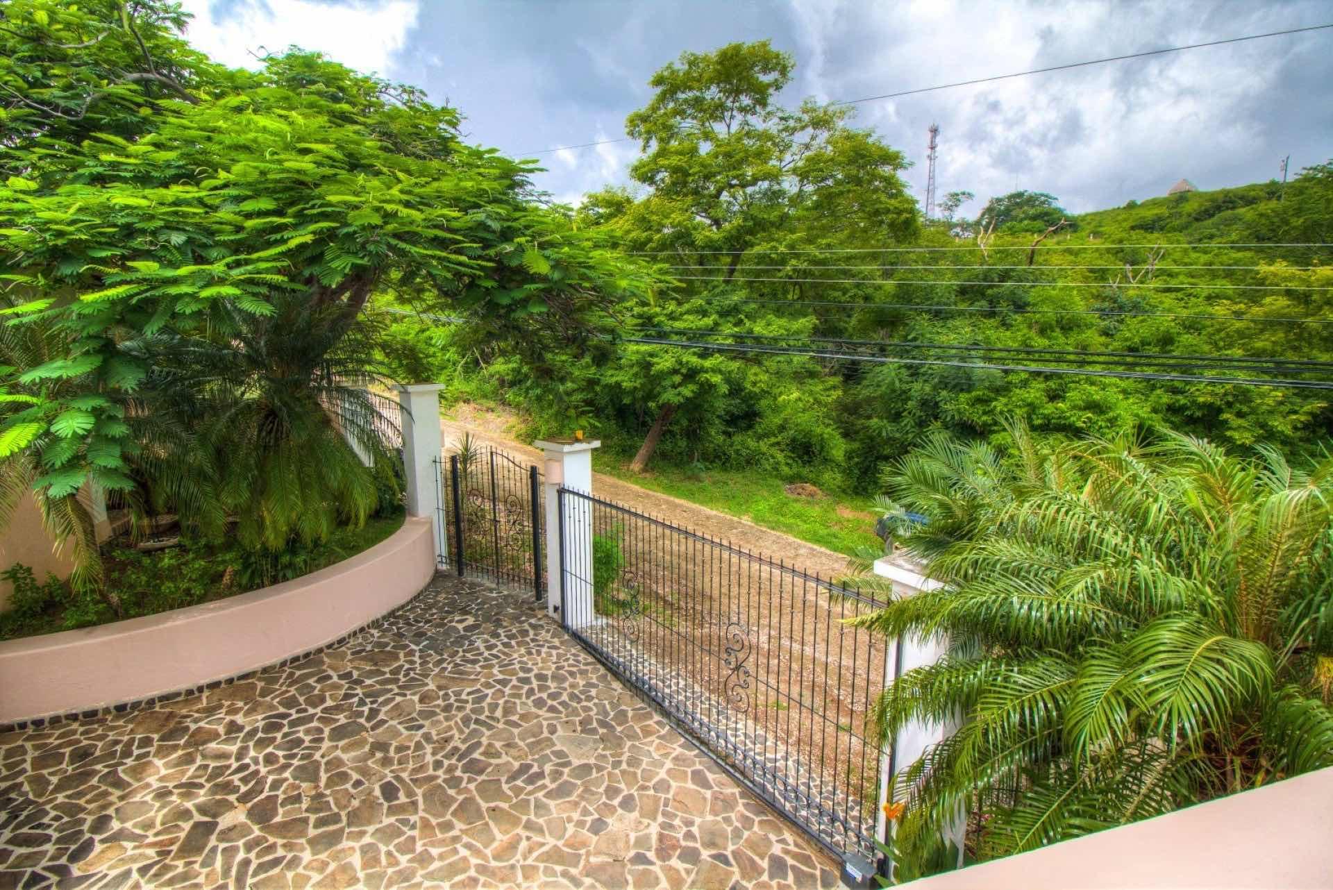 Private Entrance at Casa Catalina