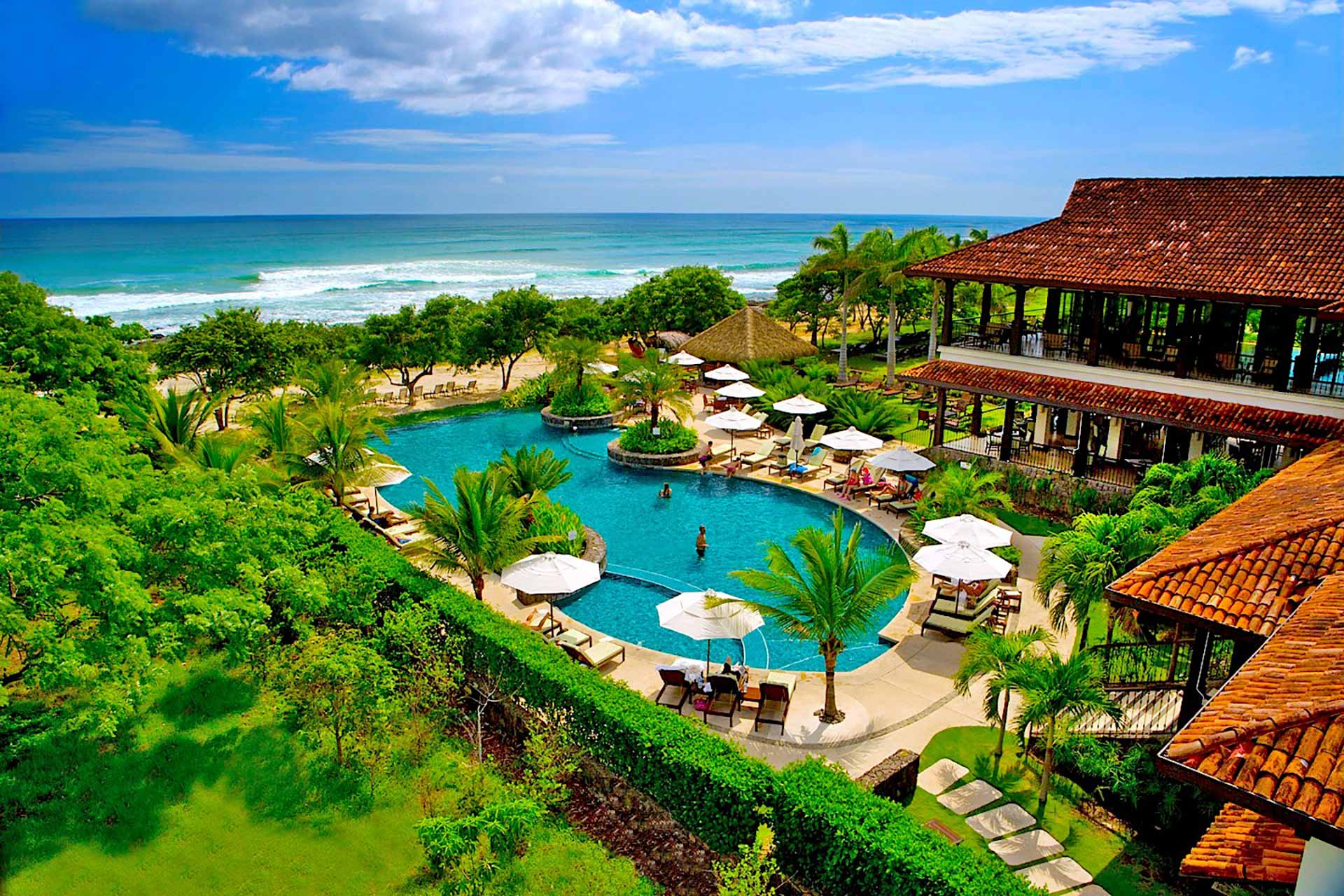 The famous Hacienda Pinilla Beach Club