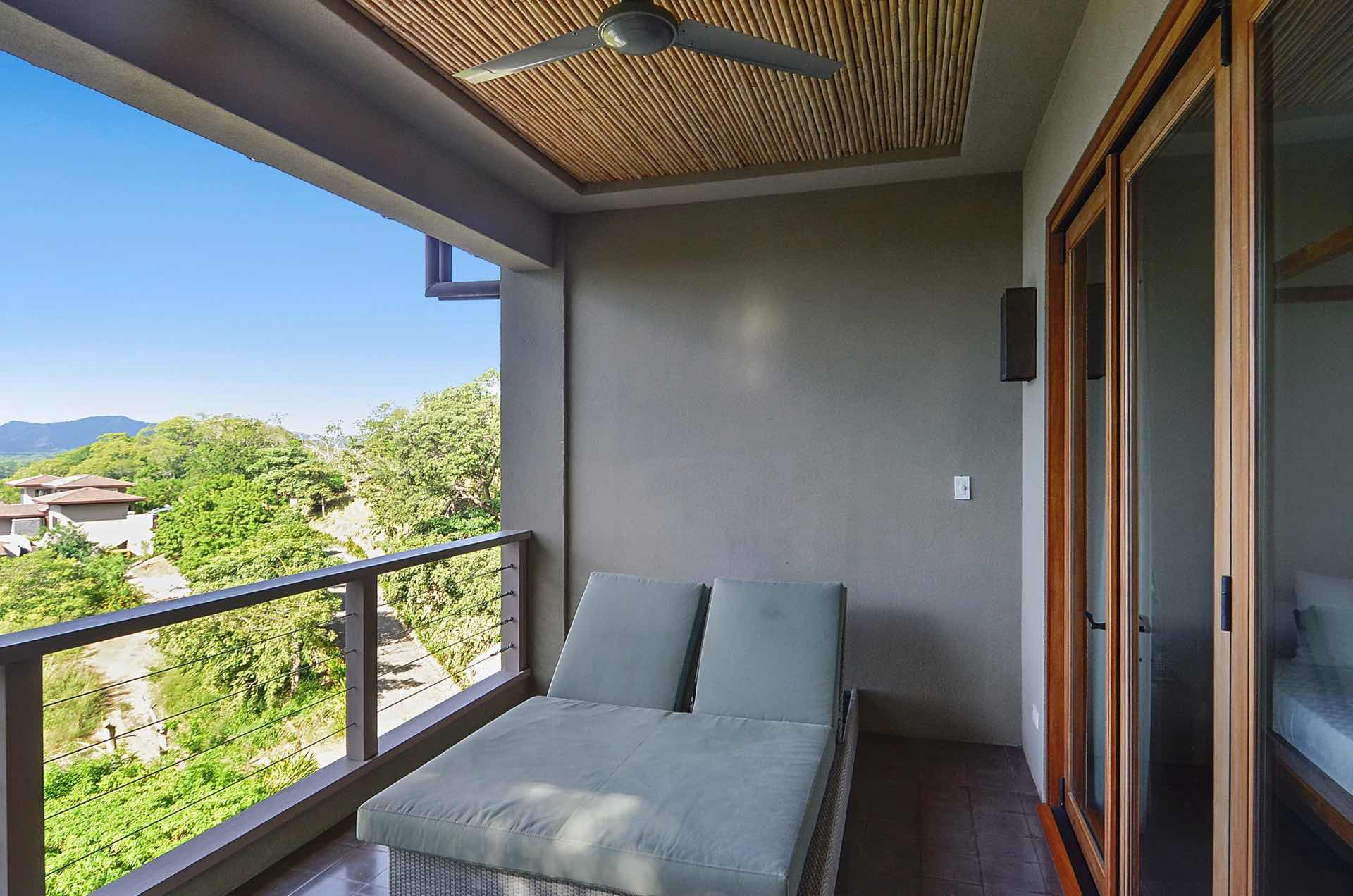 Balcony with Lounge Chair