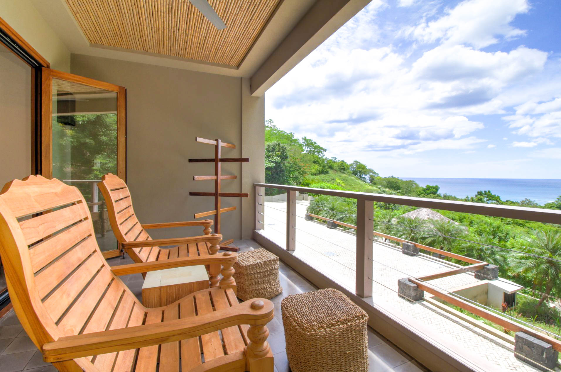 Villa 1's terraces are a Tamarindo vacation dream come true