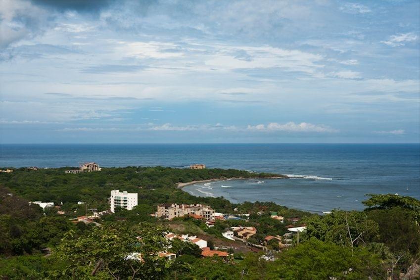 View of Playa Langosta and Playa Tamarindo