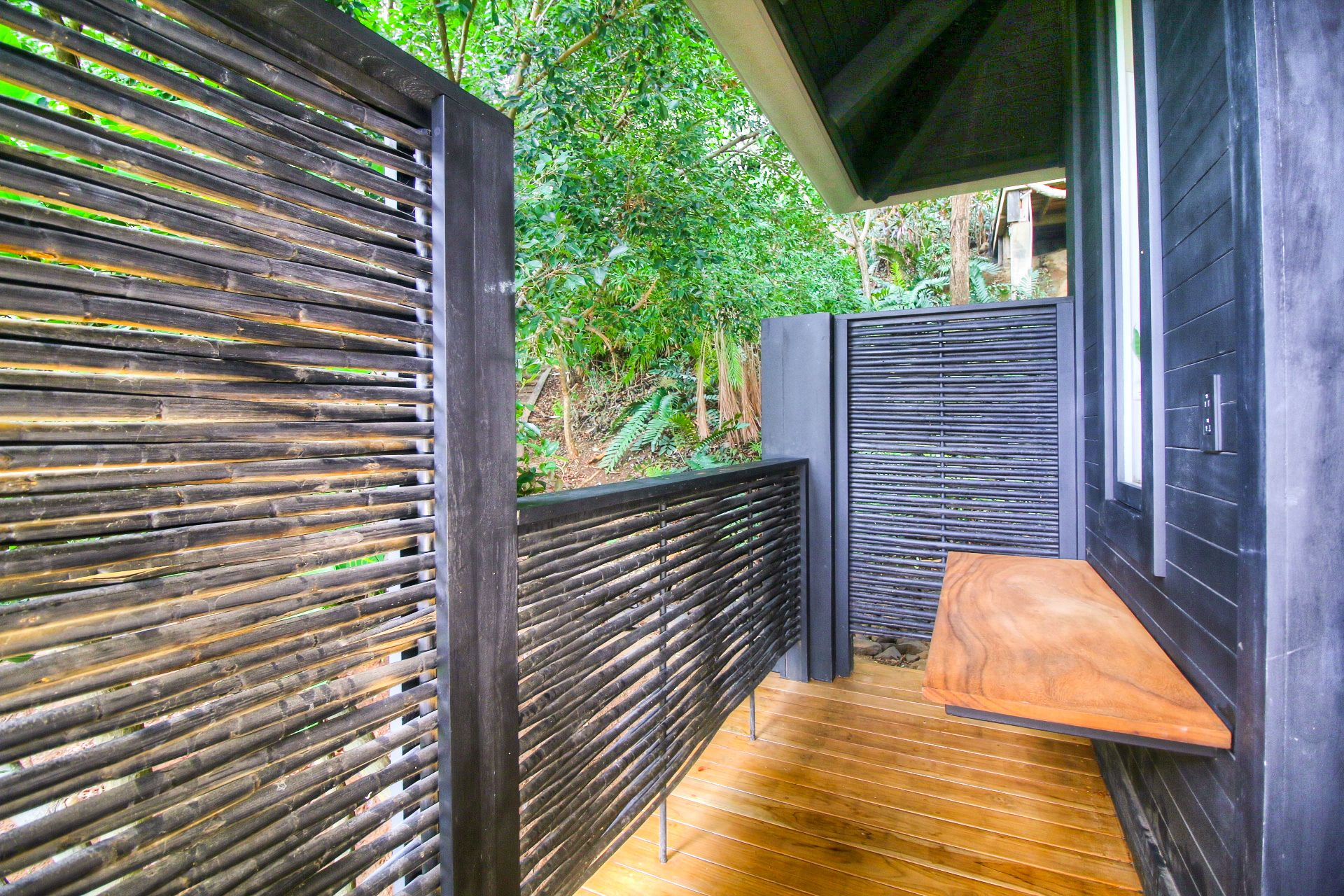 Private outdoor areas form part of individual cottages