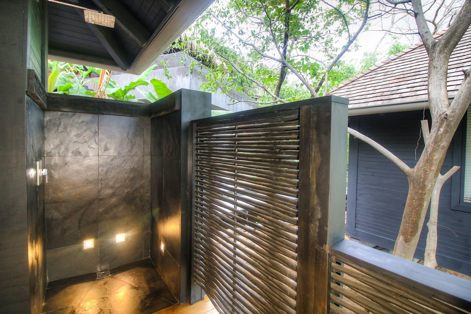 Open-air shower