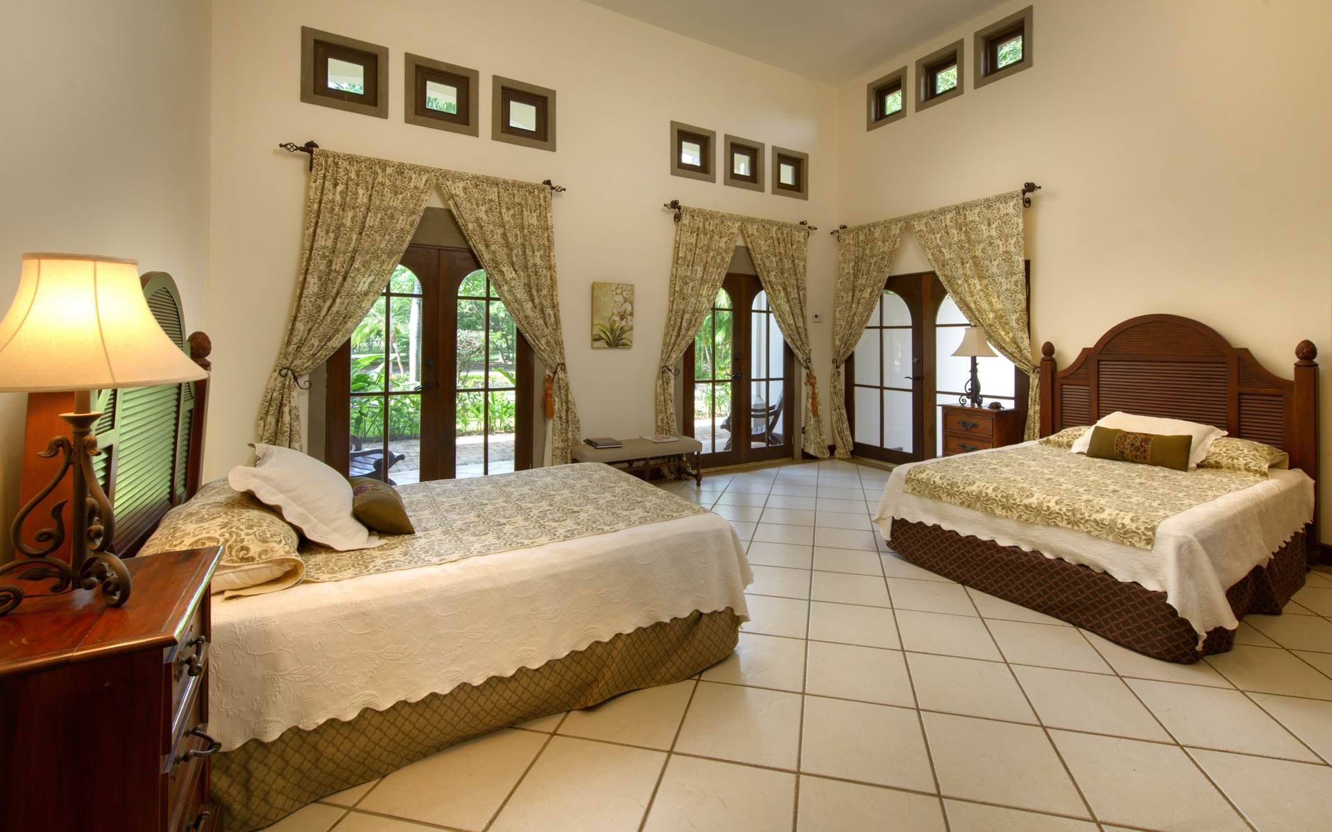 Guest Bedroom with Full Beds
