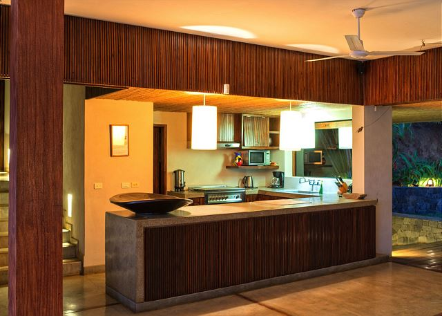 Fully kitchen, wood details