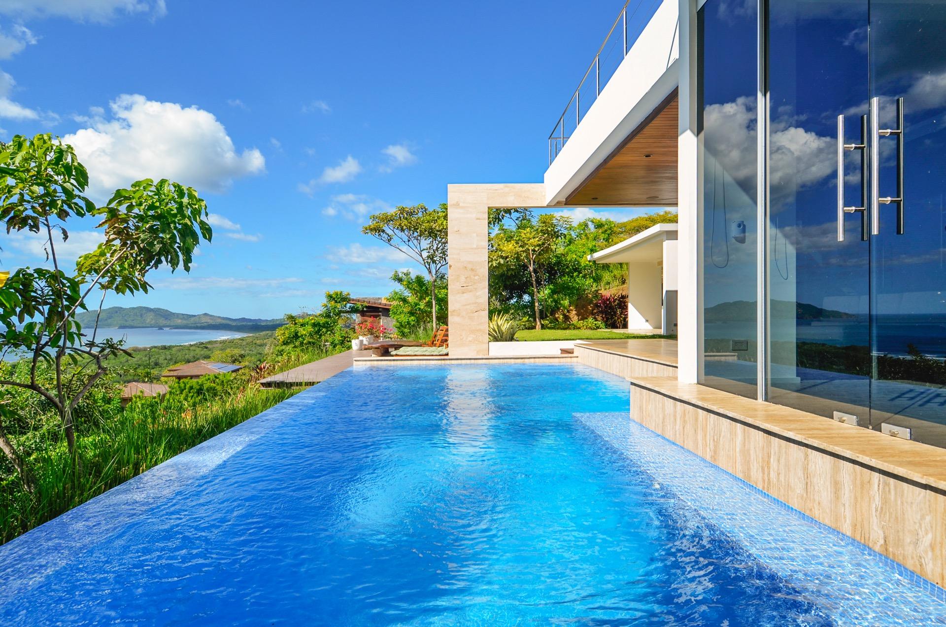 Overlooking Playa Tamarindo and Playa Grande
