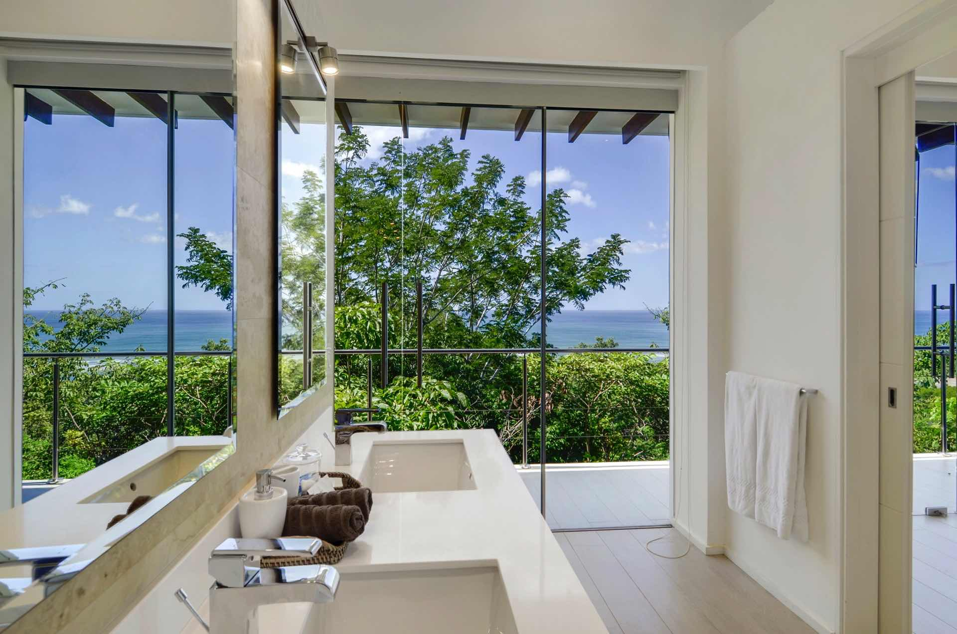 Yet another view from the master bathroom!