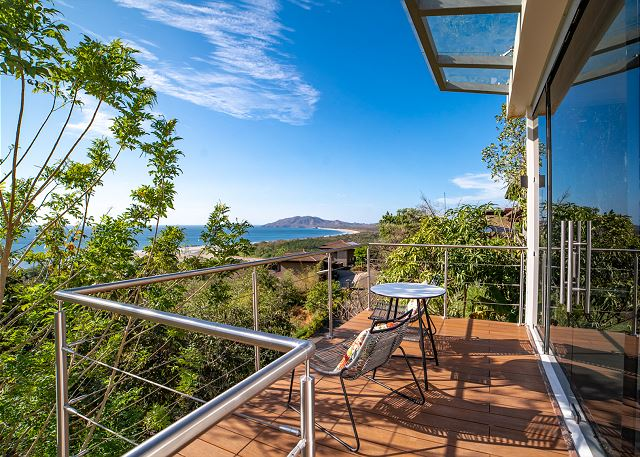 Relax on the casita's balcony and enjoy the view