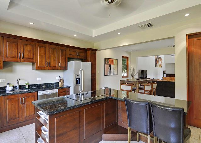 Spacious kitchen for all your cooking needs