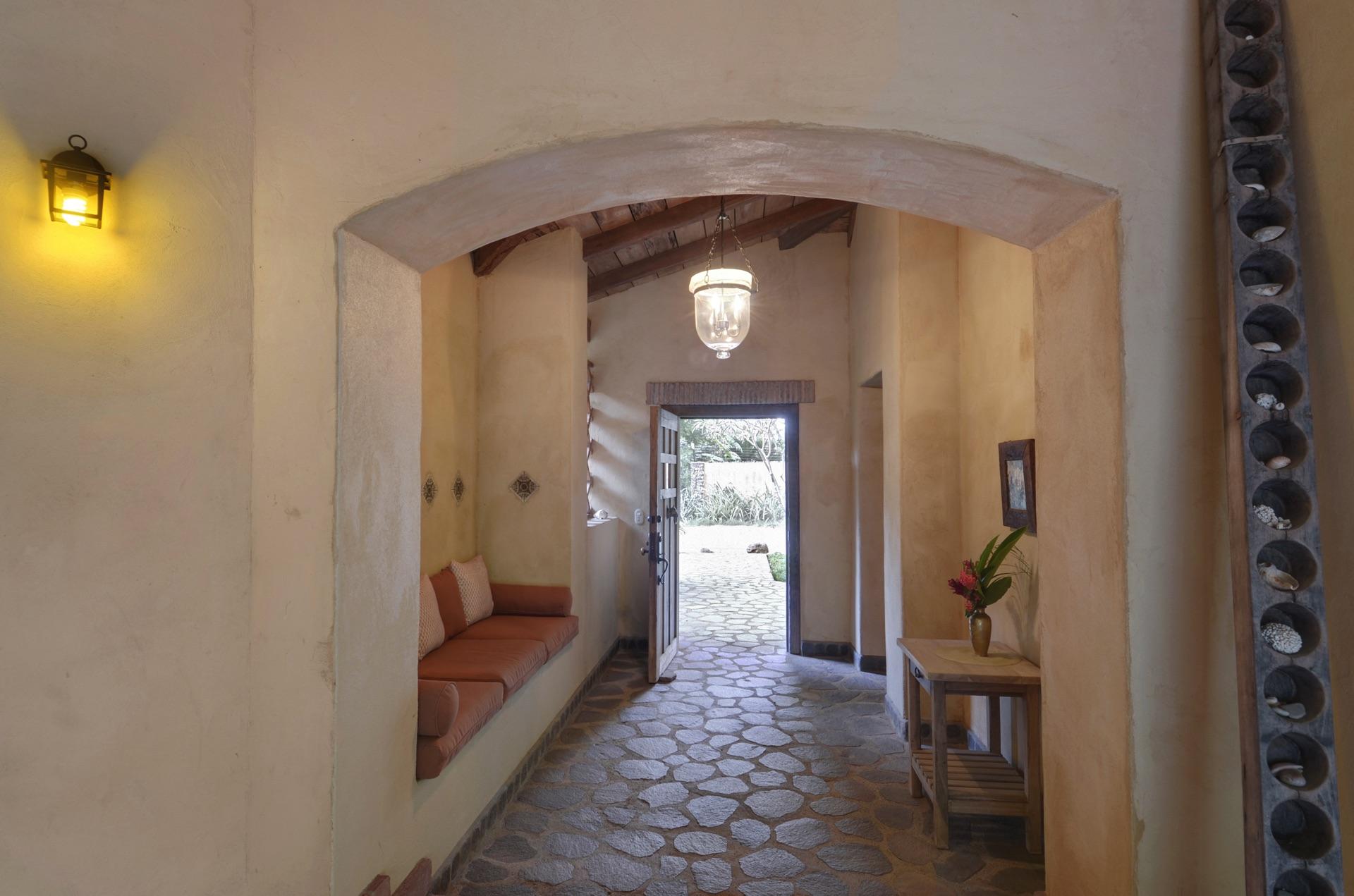 Beautiful stone walkway