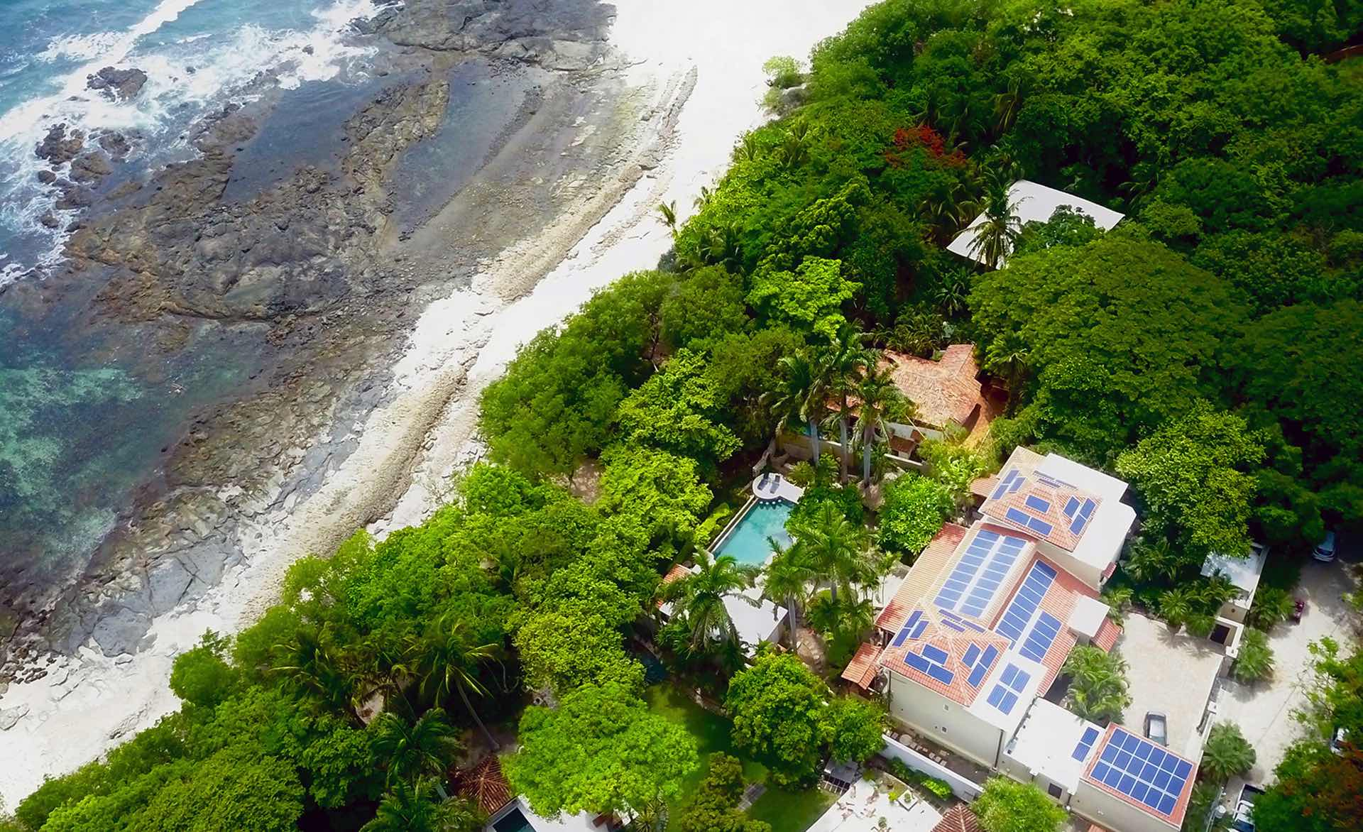Ecologial home with Solar Panels in Costa Rica