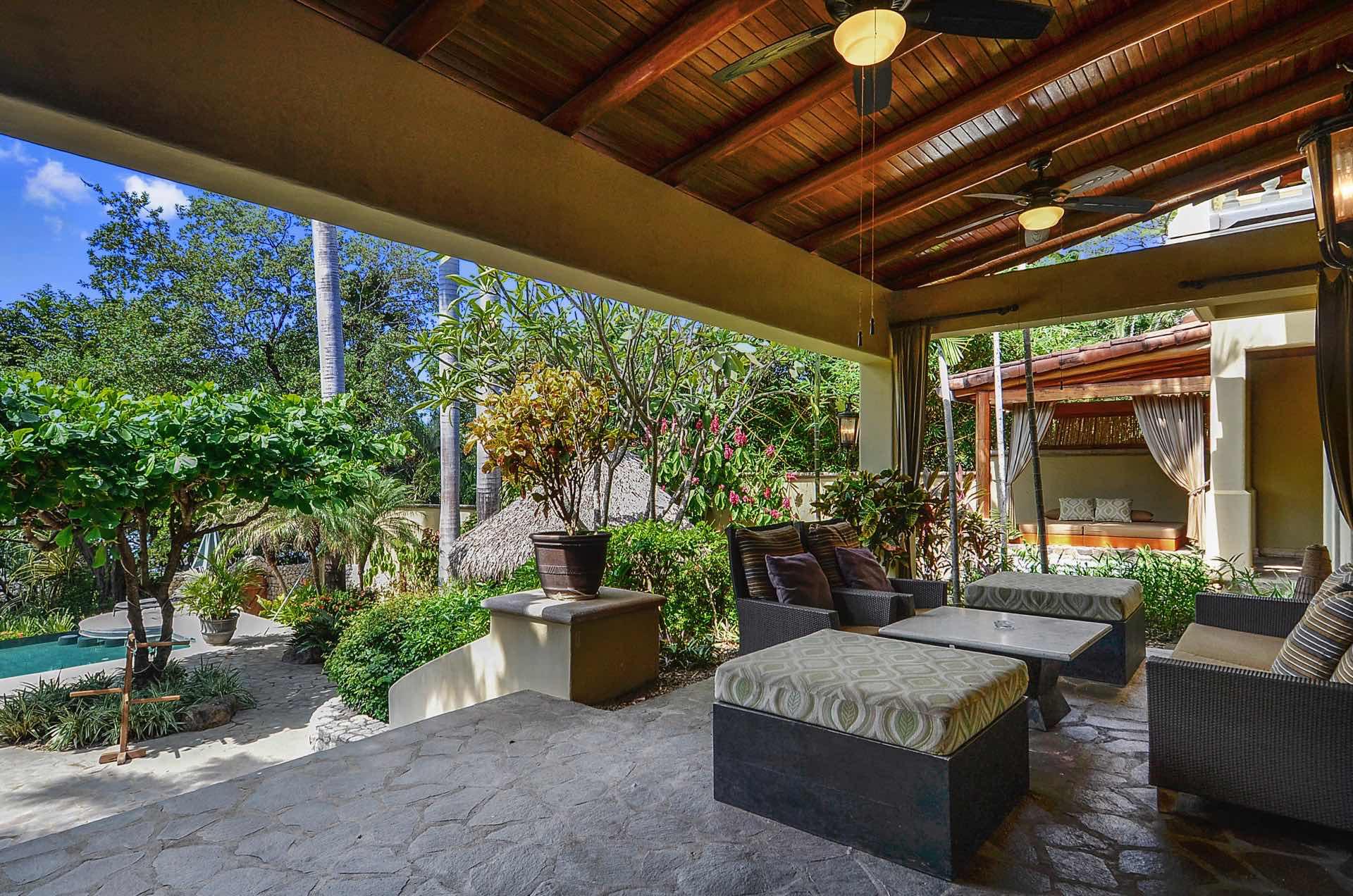 Breezy outdoor living area