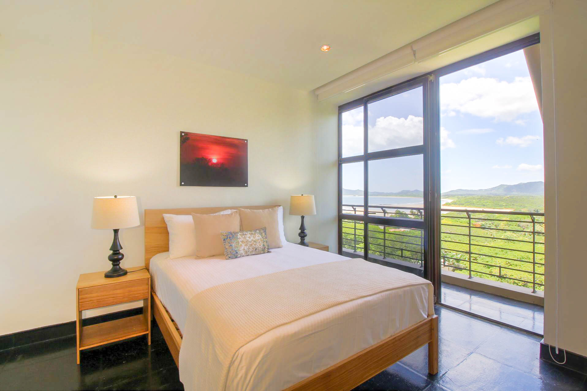 Panoramic view from guest room