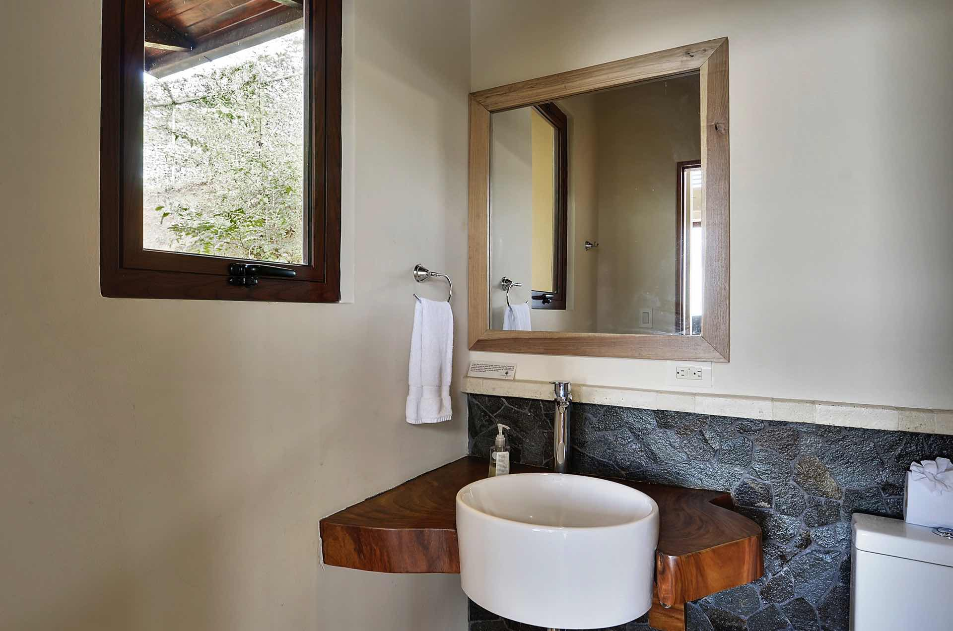 The use of natural textures makes Casa Ventanas beautiful