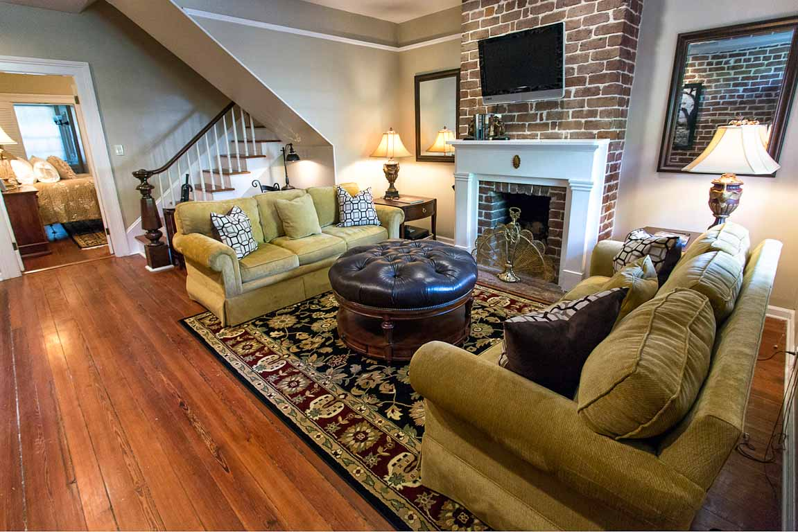 Oglethorpe Square Garden Apartment | Savannah Rentals | Lucky Savannah