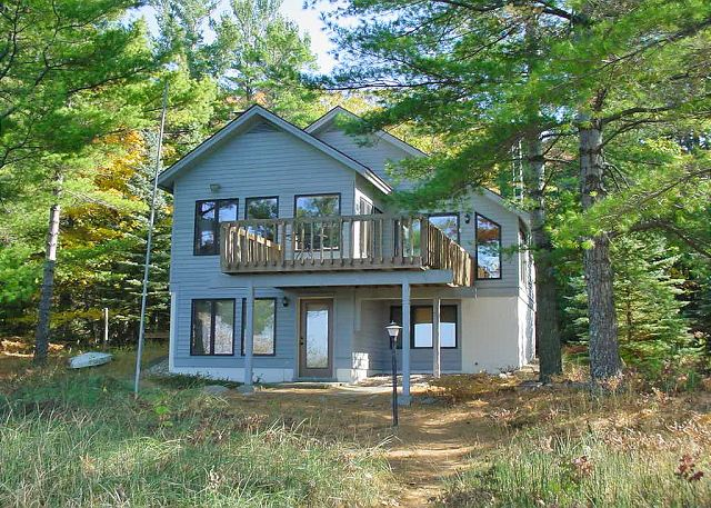 Manitou Escape, located approximately twelve miles from Glen Arbor and nine miles from Leland on Lake Michigan.