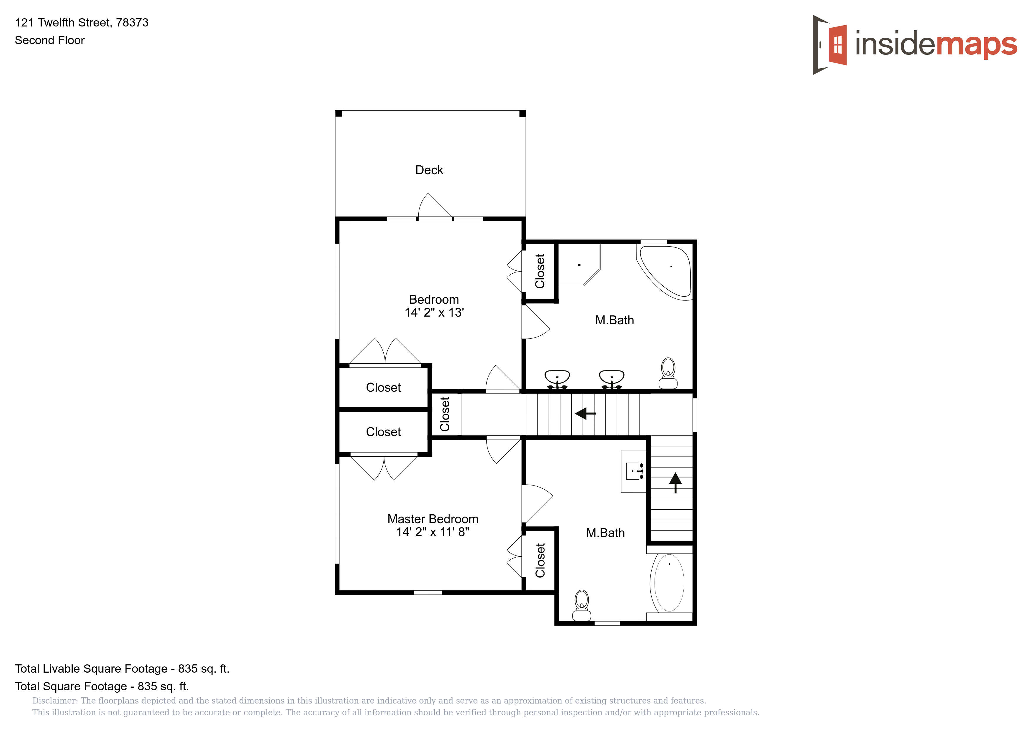 121 12th Street | Life in Paradise Vacation Rentals Offered Schematics Suggesting Peace on