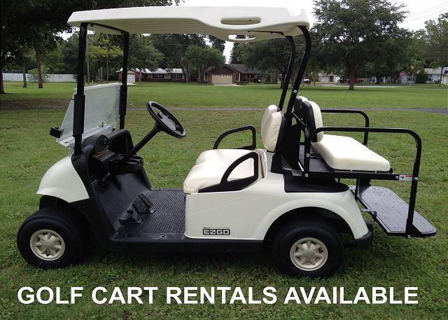Golf Cart Rental Companies Nearby