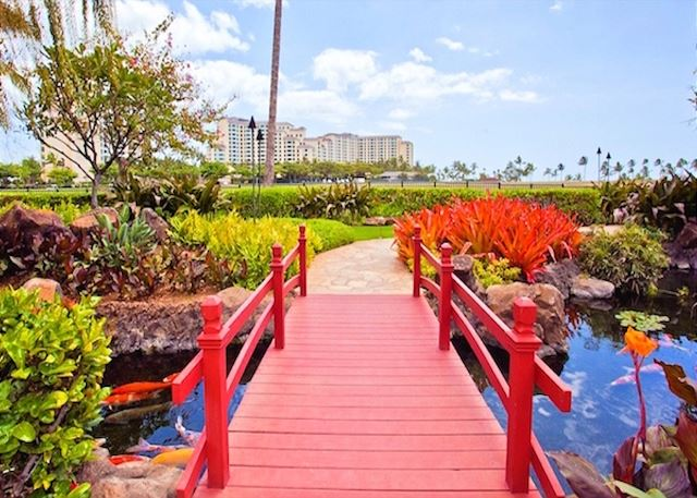 Koi Garden Path at Ko Olina Beach Villas
