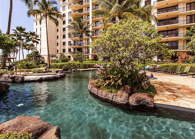 Lagoon Pool 2 at Ko Olina Beach Villas