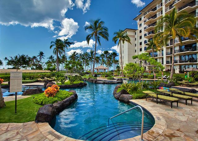 Lagoon Pool 1 at Ko Olina Beach Villas
