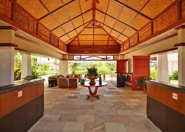 Entrance Lobby at the Beach Villas at Ko Olina