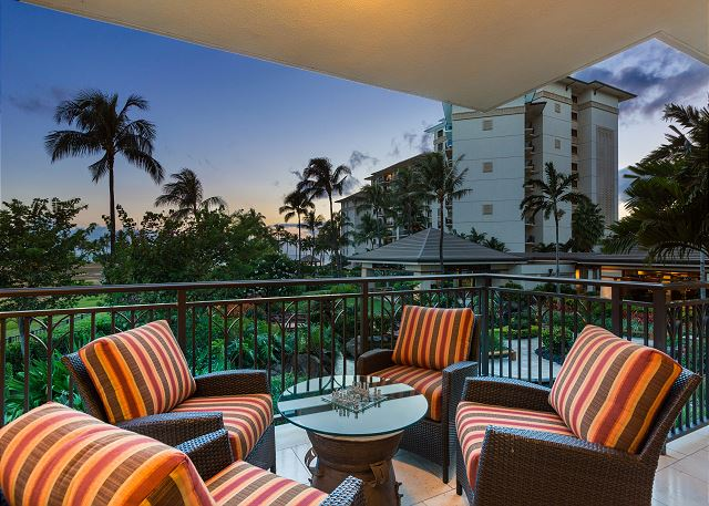 Incredible views from your private Lanai