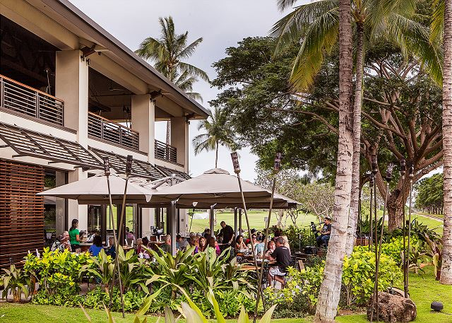Ko Olina Station with shopping and dining options