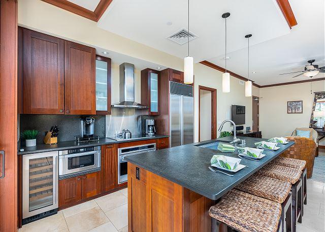 Gourmet full kitchen