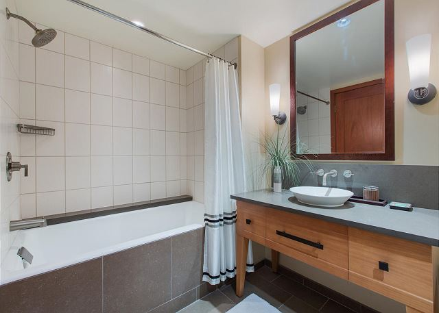 Spacious Second Bathroom