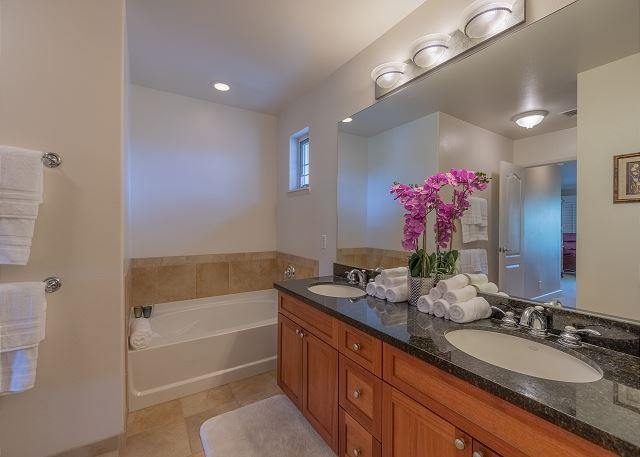 Master Bathroom with separate tub