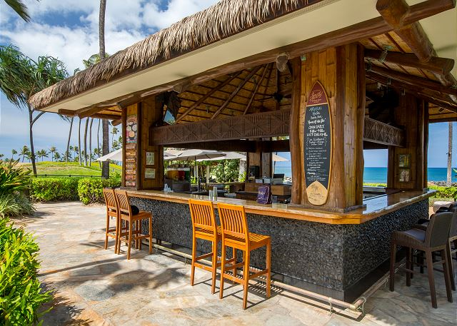 On-site beach bar