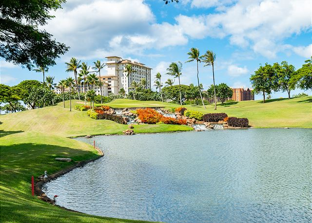 Ko Olina Signature Golf Course Water Hole