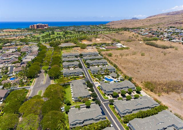 Aerial view of Ko Olina Hillside Villas