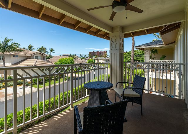 Private Lanai Off of Master Bedroom