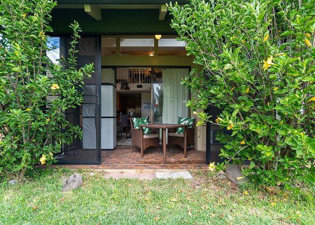 Lanai with Privacy