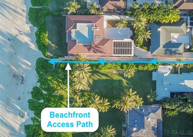 Kailua Beach Access
