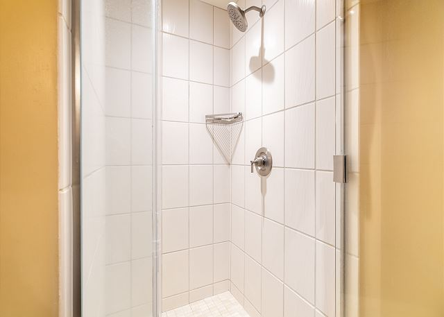 Shower in second bedroom