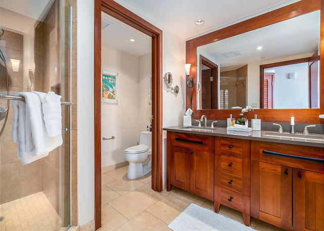 Master Bathroom with toilet closet