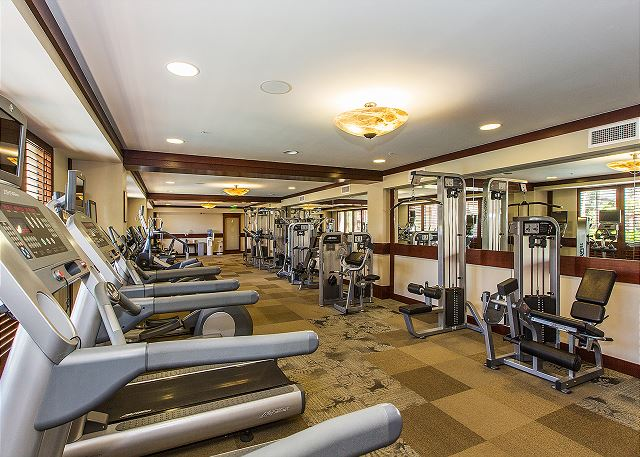 Fitness center (limited availability during COVID)