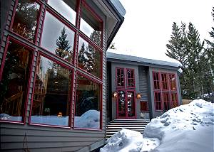 Exterior- Back Patio in the Winter