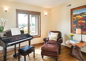 Music Room - Piano and Armchair