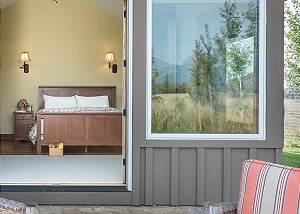Master Bedroom - Private Patio Access