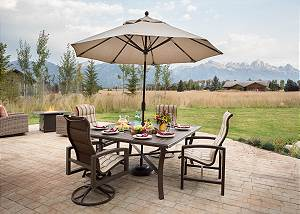 Patio - Dining Area and Firepit