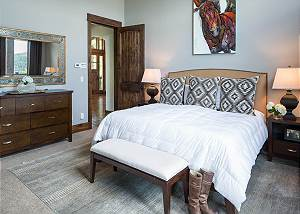 Master Bedroom - King Bed and Dresser