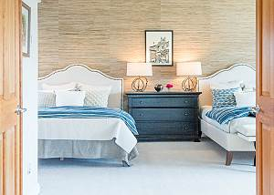 Guest Bedroom- Two Queen Beds- Plush Pillows